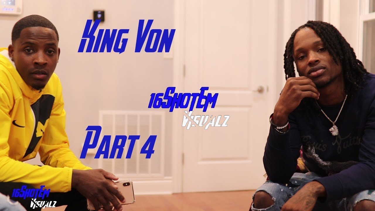King Von On Being The Black Disciples (BDN) founder David Barksdale's (King  Dave) Grandson & More