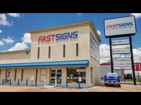 FASTSIGNS Katy, TX Facility Tour