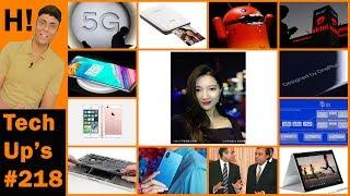 Tech Up's #218 - Jio 5G, iPhone SE 2, One Plus 6, AltOS, Facebook Drone, Xiaomi Mi 6X, Canon Printer