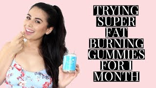 I Tried SkinnyMint Super Fat Burning Gummies | REVIEW & RESULTS