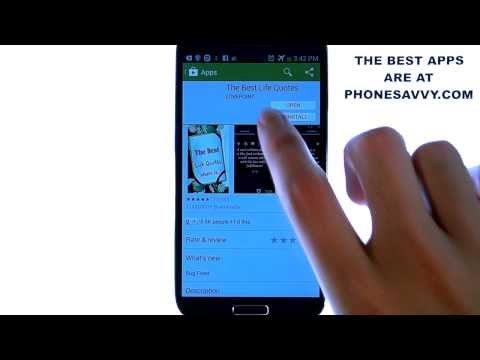 Best Life Quotes - Android App Review - Best Quotes App for Android