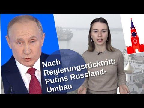 Nach Regierungsrücktritt: Putins Russland-Umbau