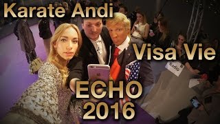 "KARATE ANDI & VISA VIE | ECHO 2016 Teil 1| ""Megamäßig überhaupt keinen Bock"" | ZUM GOLDENEN V"