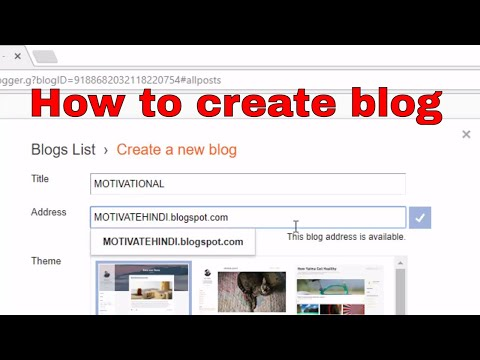 How to create a Beautiful blog on blogger  its easy& free ब्लॉग कैसे बनाएं
