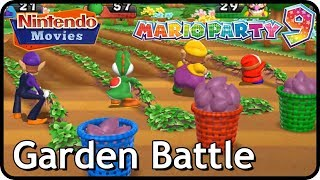Mario Party 9 - Garden Battle (Multiplayer, Free-for-All)