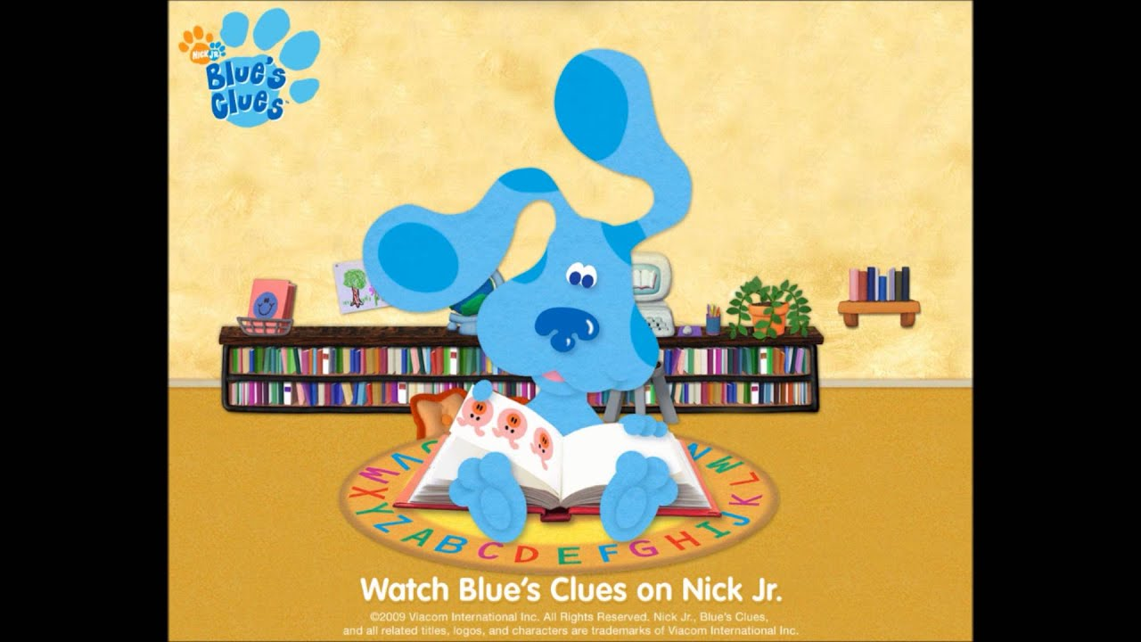 Blue's Clues Theme Song Original(steve) - YouTube - photo#22