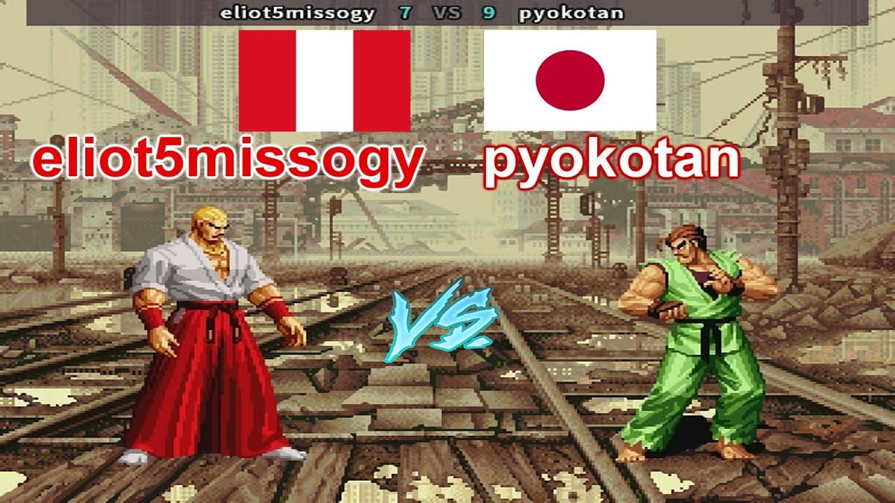 SNK vs. Capcom - SVC Chaos Super Plus - eliot5missogy vs pyokotan