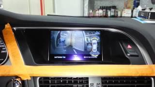 AUDI A4 360도 옴니뷰장착기.