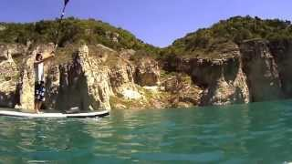 Stand Up Paddle Board excursion at Congost de Fet & Mont-Rebei - SUP / Fet Canyon