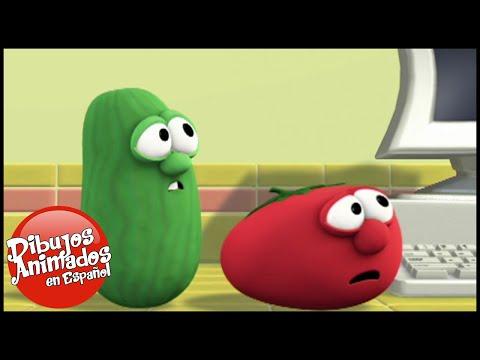 VeggieTales en Español Latino | Canciones Tontas Con Larry | Dibujos Animados | Caricaturas