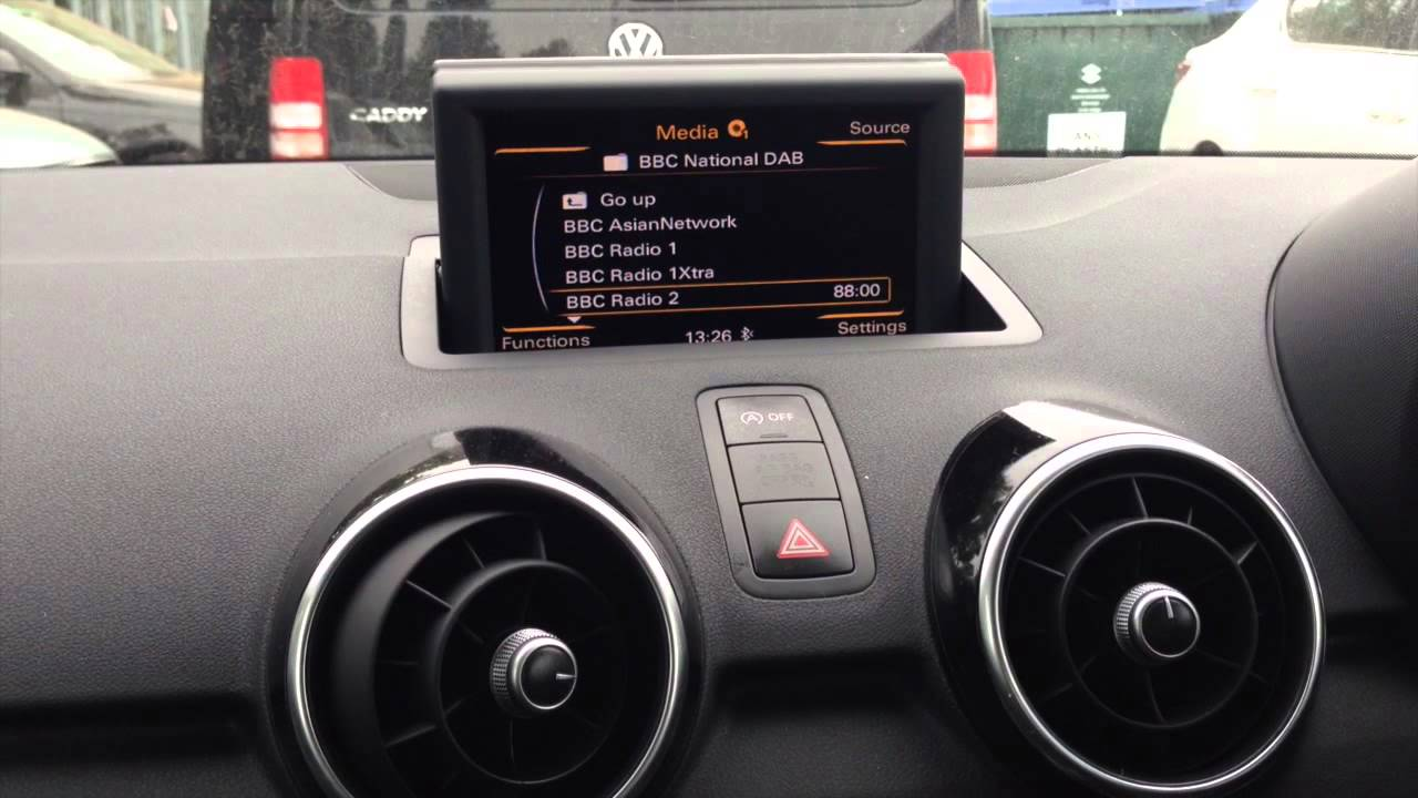 Kufatec Fistune Dab Radio Installed Into An Audi A1 Youtube