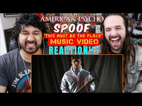 AMERICAN PSYCHO SPOOF - Music Video - REACTION!!!
