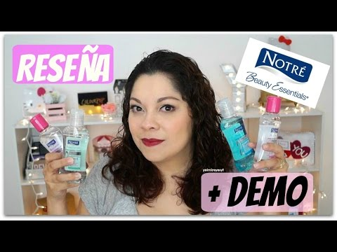 Reseña+Demo Notré Beauty Essentials💗i´Yeimi!💗