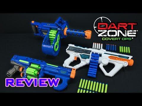 [REVIEW] Dart Zone Group Review | Quatroshot, Light Command, & Dartstorm