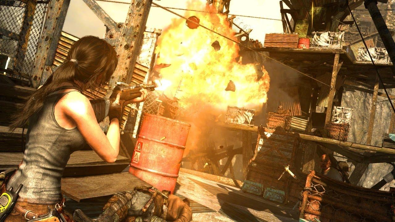 Tomb Raider Definitive Edition Gameplay Ps4 Playtest Link Do Recenzji Youtube