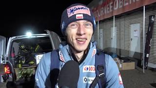 Dawid Kubacki najlepszym Polakiem w Oberstdorfie [30.12.2018]
