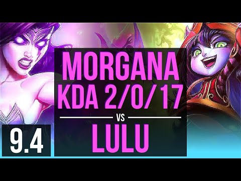 Morgana Caitlyn Vs Lulu Sivir Support Kda 2017 Tr