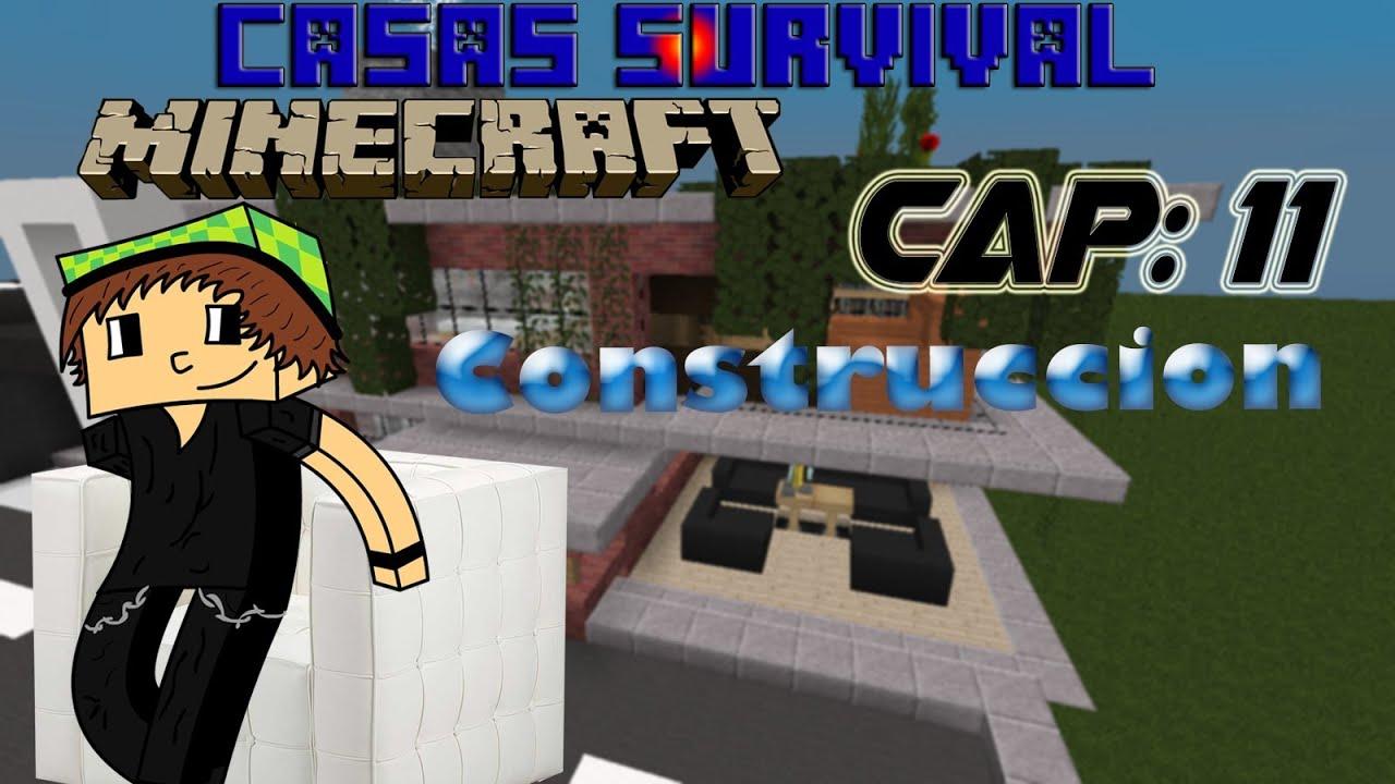 Minecraft como hacer una buena casa con tabiques youtube - Como hacer tabiques ...