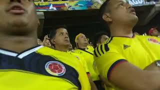 Himno de Colombia vs Paraguay. Fecha 17 eliminatorias 2018