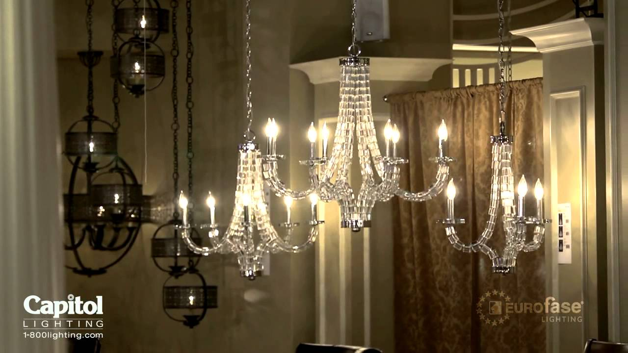 A Tour of the Eurofase Lighting Showroom - YouTube