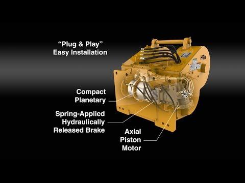 Hydraulic Winch Animation
