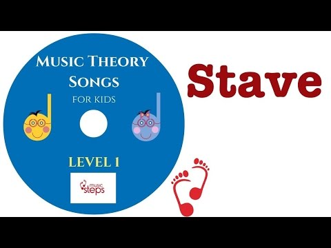 Music Staff Song for Kids   Music Stave Explained