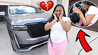 TELLING MY WIFEY THE NEW CAR IS NOT HERS! 💔 (PRANK)