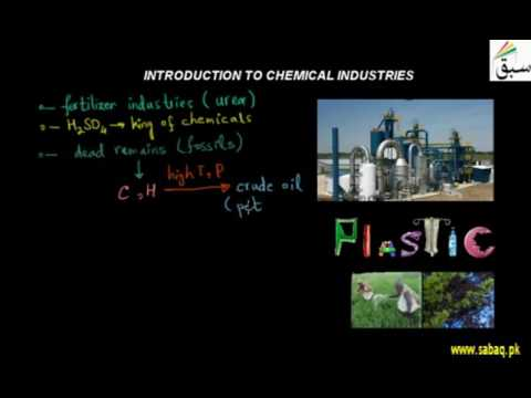 Introduction to Chemical Industries