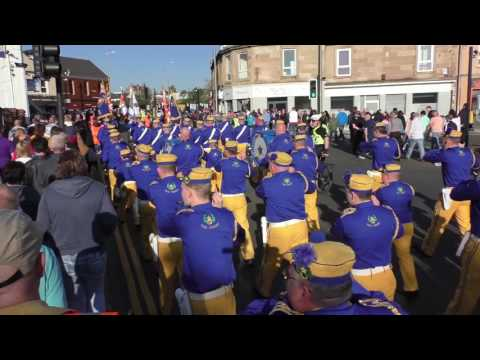Craigneuk Band Parade 2017-  The Derry from Craigneuk to The Cross Keys