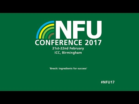 NFU Conference 2017 - Day 2 Live Stream