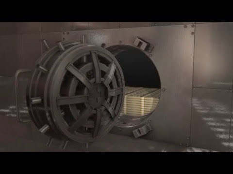 After effects and element 3d : Bank Vault (Final Result)