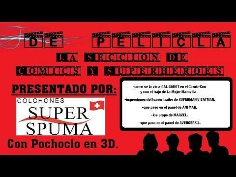 ▶DE PELÍCULA - Seccion de comics y superhéroes - Gal Gador / Mujer Maravilla / Ant-Man / Avengers 2