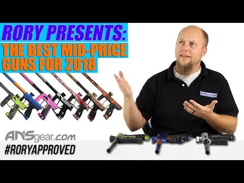Best Mid-priced Paintball Guns of 2018 by ANSgear.