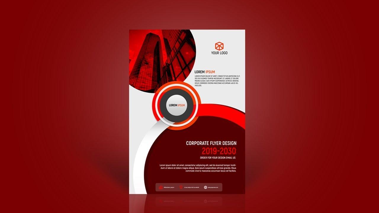 Flyer Design in Photoshop | Business Flyer Design | A4 Flyer