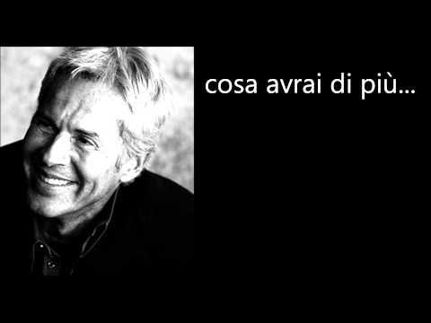 Claudio Baglioni - Porta Portese Testo Lyrics