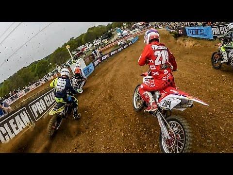 Insane 2 stroke Motocross Racing