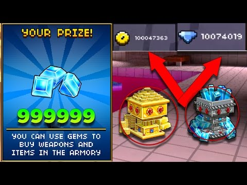How I Got Unlimited Gems & Coins In Pixel Gun 3D [99999+ Gems & 99999+ Coins]