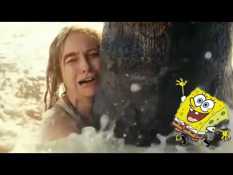 "Thumbnail: I put ""It's the best day ever"" from spongebob into a world disaster"
