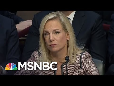 Cory Booker Blasts President Trump's DHS Secy. For 'Convenient Amnesia'   The 11th Hour   MSNBC