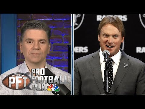 Why did Mike Mayock, Jon Gruden send scouts home early? | Pro Football Talk | NBC Sports