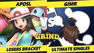Smash Ultimate Tournament - VGBC | GimR (Game & Watch) Vs. VGBC | Aposl (P. Trainer)The Grind 55