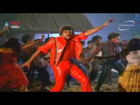Thriller Jackson &  Chiranjeevi Super (Indian) Hit Video Song