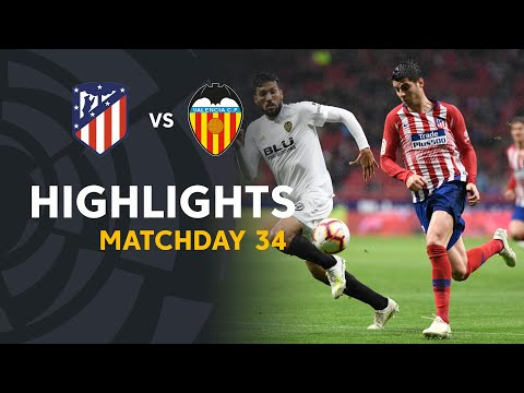 Highlights Atlético de Madrid vs Valencia CF (3-2)