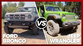 Ford Bronco vs. Jeep Wrangler: The comparison you've been waiting for