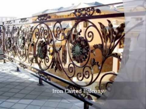 Iron cast furniture