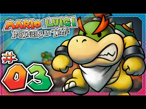 Mario and Luigi: Partners In Time - Part 3: Attack on Bowser!
