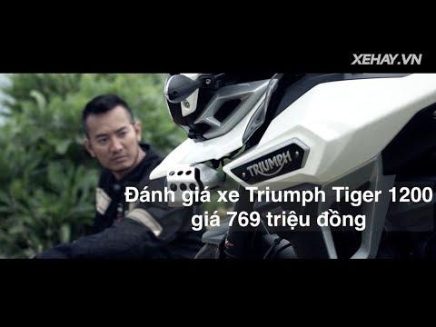 nhận xét xe Triumph Tiger 1200 giá 769 triệu đồng |XEHAY.VN|