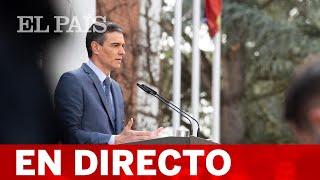 DIRECTO | SÁNCHEZ preside un acto de destrucción simbólica de ARMAS de terroristas