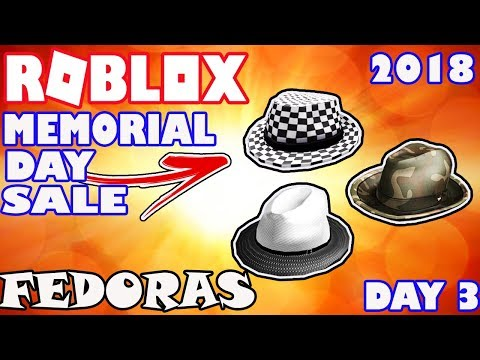 [SALE] Checkered, Camouflage, and Two Tone Fedora Hats on Sale – Roblox Memorial Day Sale 2018
