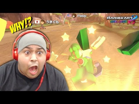 I THOUGHT GOING ONLINE WAS A GOOD IDEA... WELL.. X_X [MARIO KART 8 DELUXE ] [ONLINE]